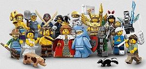 71011 KIT LEGO MINIFIGURES Série 15 COLEÇÃO COMPLETA
