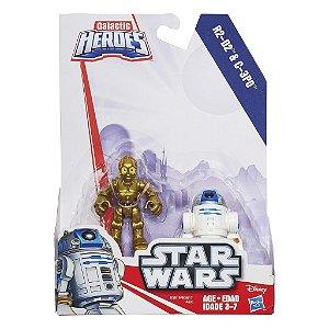 B3817 STARWARS PLAYSKOOL R2-D2 & C3PO