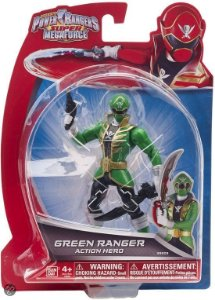 38203 POWER RANGERS SUPER MEGA FORCE RANGER VERDE