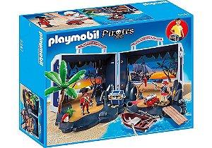 5347 PLAYMOBIL PIRATA BAÚ DO TESOURO DOS PIRATAS