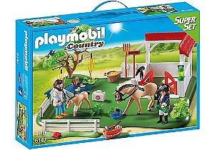 6147 PLAYMOBIL COUNTRY SUPER SET PARQUE DOS CAVALOS