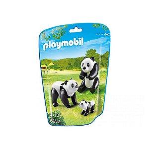 6652 PLAYMOBIL ZOOLÓGICO PANDAS