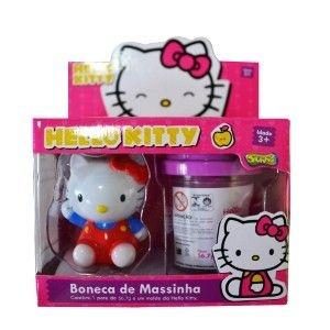 347 KI-MASSA HELLO KITTY BONECA DE MASSINHA