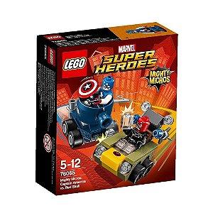 76065 LEGO MARVEL Micros: Capitão América x Caveira Vermelha