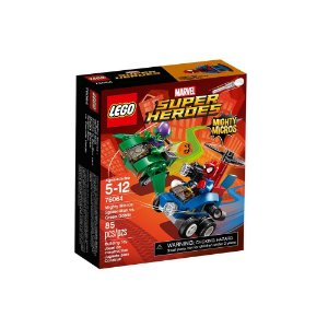 76064 LEGO MARVEL Micros: Homem-Aranha contra Duende-Verde