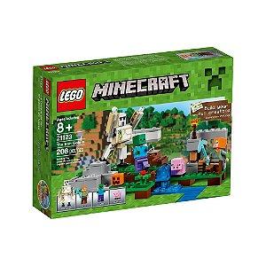 21123 LEGO MINECRAFT O GOLEM DE FERRO