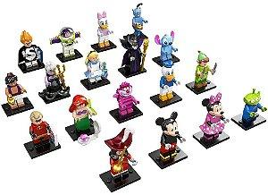 71012 LEGO KIT MINIFIGURES DISNEY COLEÇÃO COMPLETA COM 18P