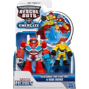 A0672 TRANSFORMERS RESCUE BOTS HEAT WAVE E KADE BURNS