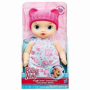 B7114 BABY ALIVE BABY ALIVE NANINHA ROSA