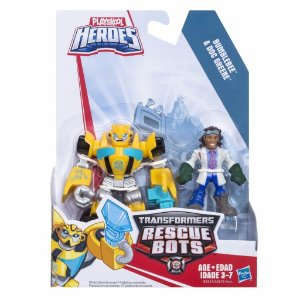 A0672 TRANSFORMERS RESCUE BOTS BUMBLEBEE E DOCTOR GREENE