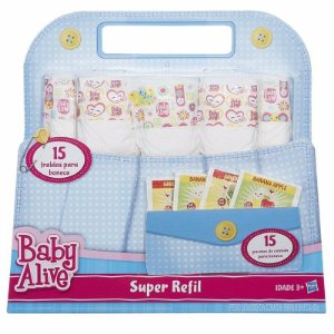 B0023 BABY ALIVE SUPER REFIL NOVO