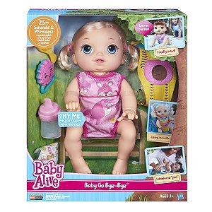 B6048 BABY ALIVE VAMOS PASSEAR LOIRA