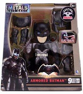 3870 DC COMICS METAL DIECAST BATMAN ARMADURA GRANDE