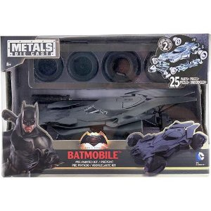 3871 DC COMICS METAL DIECAST BATMOBILE MODEL KIT