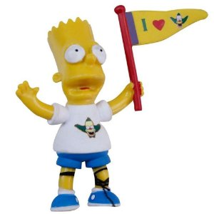 BR499 SIMPSONS TOP COLLECTION BART CRUST FANBOY