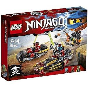 70600 LEGO NINJAGO PERSEGUICAO DE MOTOCICLETA NINJA