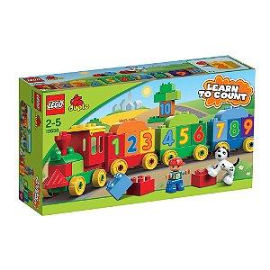 10558 LEGO DUPLO Locomotiva dos Números