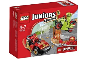 10722 LEGO JUNIORS NINJAGO Confronto da Serpente