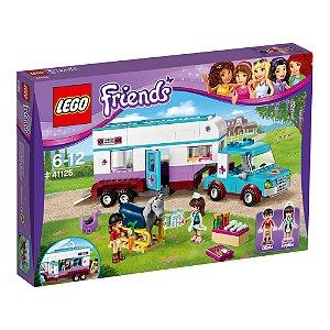 41125 LEGO FRIENDS Trailer Veterinário para Cavalos