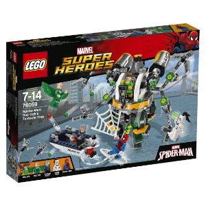 76059 LEGO MARVEL Homem-Aranha: A Armadilha de Doc Ock