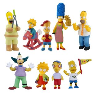 BR499 SIMPSONS TOP COLLECTION KIT COMPLETO
