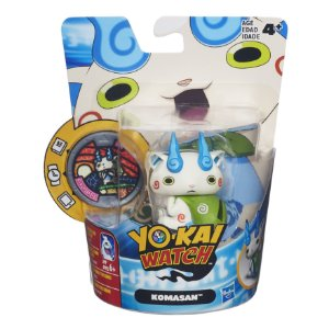 B5937 YO-KAI WATCH FIG C/ MEDALHA - KOMASAN