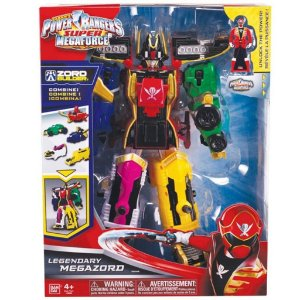 38096 POWER RANGERS SUPER MEGA FORCE LENDÁRIO MEGAZORD