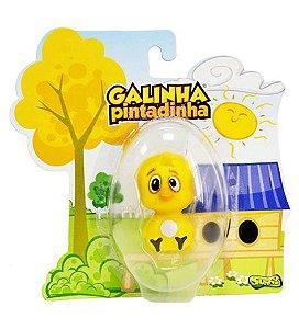 423 GALINHA PINTADINHA FIGURAS PINTINHO AMARELINHO
