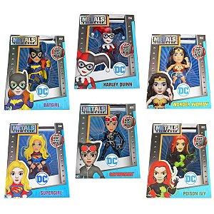 4020 DC COMICS METAL DIECAST GIRLS KIT COLEÇÃO COMPLETA