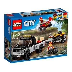 60148 LEGO CITY Equipe de Corrida de Veículo Off-Road
