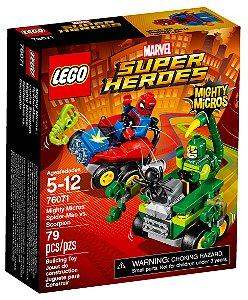 76071 LEGO MARVEL Micros: Homem-Aranha vs. Escorpião