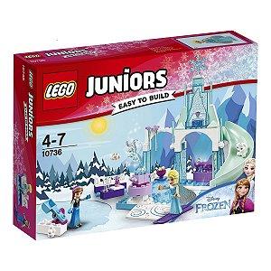10736 LEGO JUNIORS FROZEN Recreio Gelado de Anna e Elsa