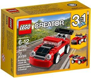 31055 LEGO CREATOR Carro de Corrida Vermelho