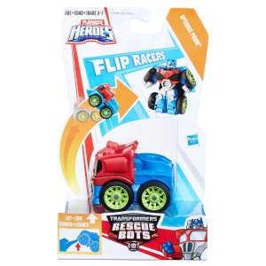 C0214 TRANSFORMERS PLAYSKOOL FLIP RACERS OPTIMUS PRIME