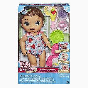B5015 BABY ALIVE LANCHINHOS DIVERTOS MORENA