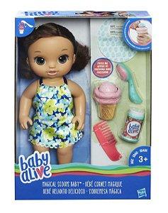 C1089 BABY ALIVE SOBREMESA MÁGICA MORENA