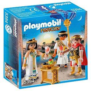 5394 PLAYMOBIL ROMANOS CLEÓPATRA E JÚLIO CÉSAR