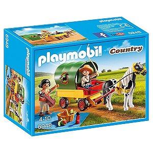6870 PLAYMOBIL COUNTRY POMAR COM TRATOR