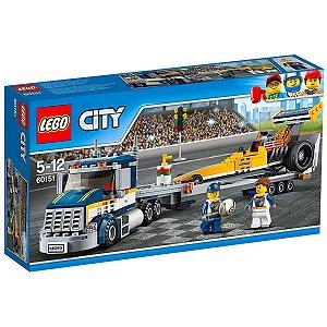 60151 LEGO CITY Caminhão com Dragster de corrida