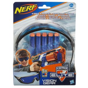A5068 NERF N-STRIKE ELITE VISION GEAR COM 5 DARDOS