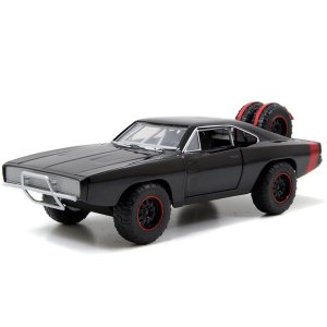 3866 VELOZES E FURIOSOS 1:32 DOM'S DODGE CHARGER RT (OFFROAD)