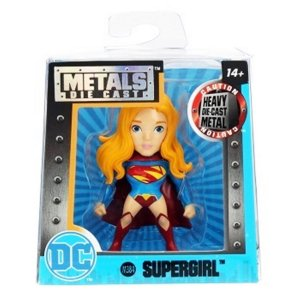 4021 DC COMICS METAL DIECAST 6CM SUPER-GIRL M384