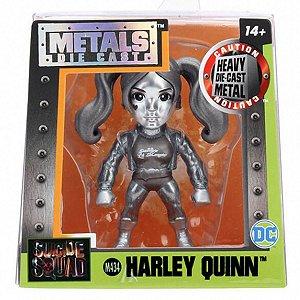 4025 DC COMICS METAL DIECAST 6CM HARLEY QUINN M434