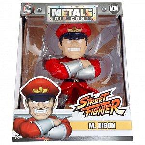 4134 STREET FIGHTER METAL DIECAST 10CM M. BISON (307)