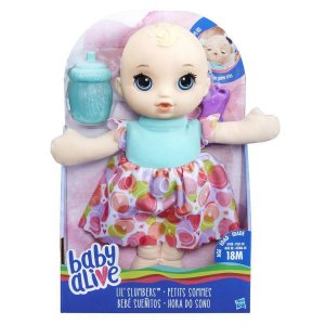 B9720 BABY ALIVE HORA DO SONO LOIRA