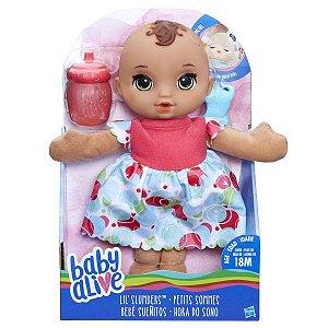 B9721 BABY ALIVE HORA DO SONO MORENA