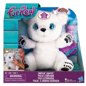B9073 FURREAL FRIENDS POLAR, A URSINHA RESFRIADA