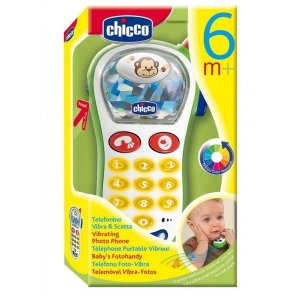 60067 CHICCO PRIMEIRO BRINQUEDO TELEFONE VIBRA CAPTA