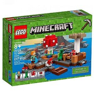 21129 LEGO MINECRAFT A ILHA DOS COGUMELOS