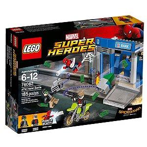 76082 LEGO MARVEL HOMEM-ARANHA ASSALTO AO CAIXA ELETRÔNICO
